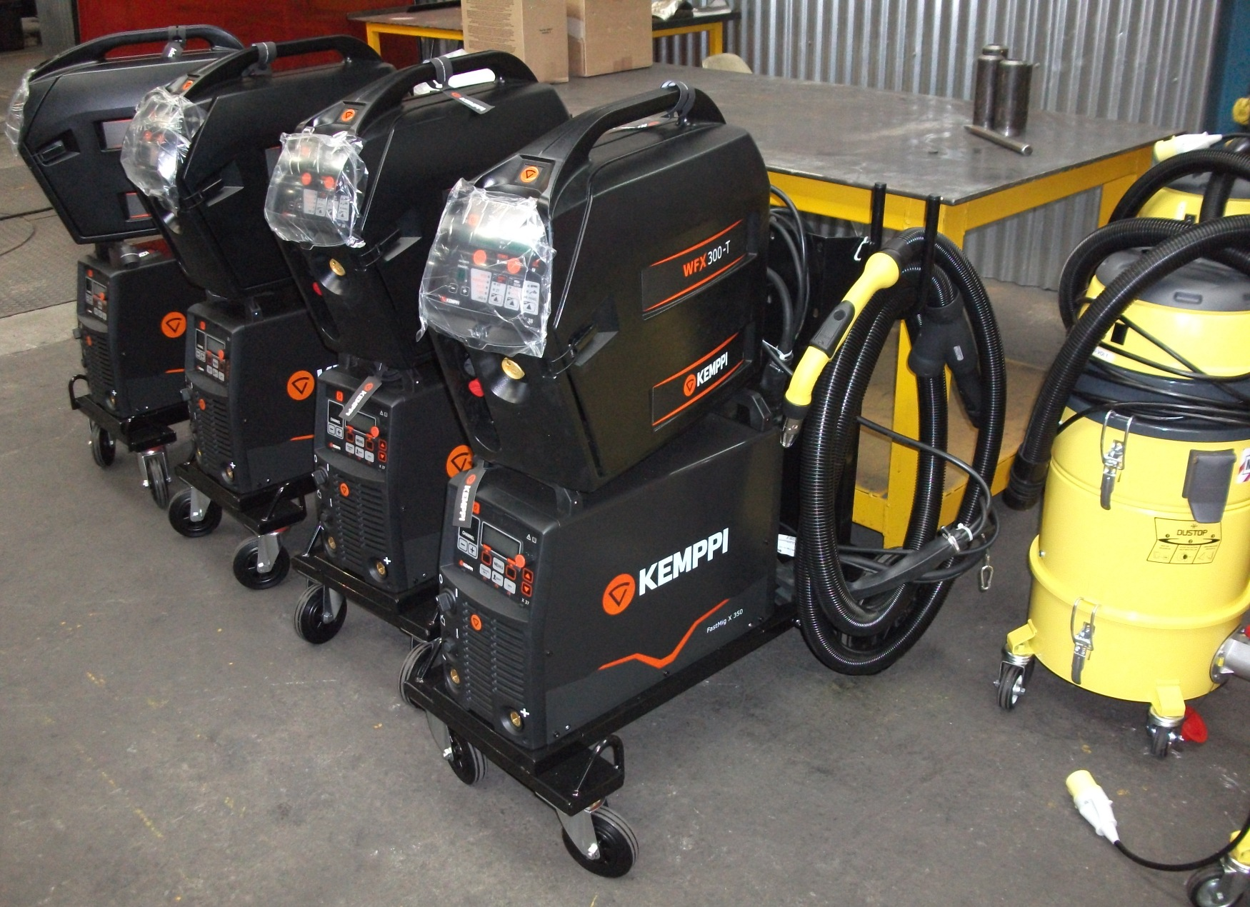 fabrication Kemppi MIG welding sets